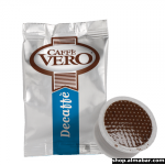КАФЕ КАПСУЛА DEK VERO-Безкофеиново кафе - 0,7гр , код: 29107