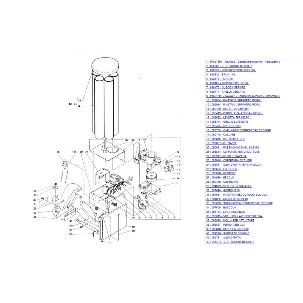Чашков механизъм кафеавтомат  ZANUSI VENEZIA (4)
